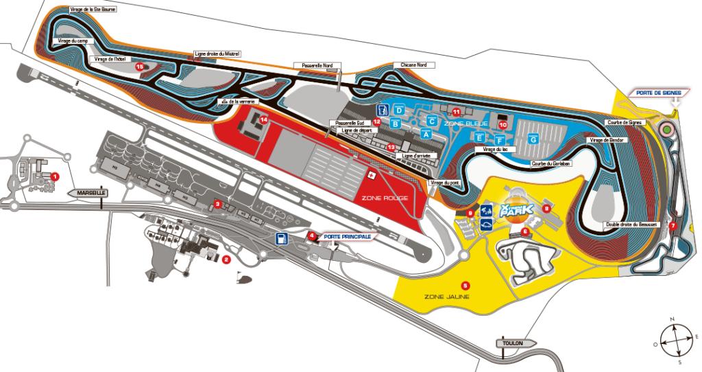 Circuito Paul Ricard : F cosa aspettarsi dal gran premio di francia al