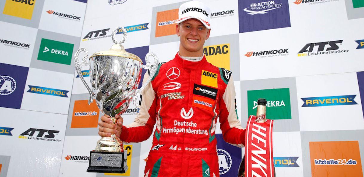 Mick Schumacher, leader nel Campionato Europeo Formula 3