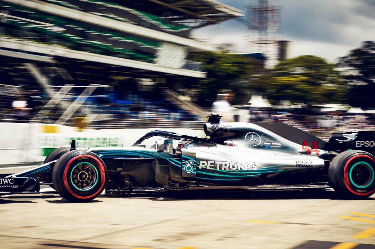 GP Brasile F1, Libere 2: le due Mercedes e Vettel molto vicini