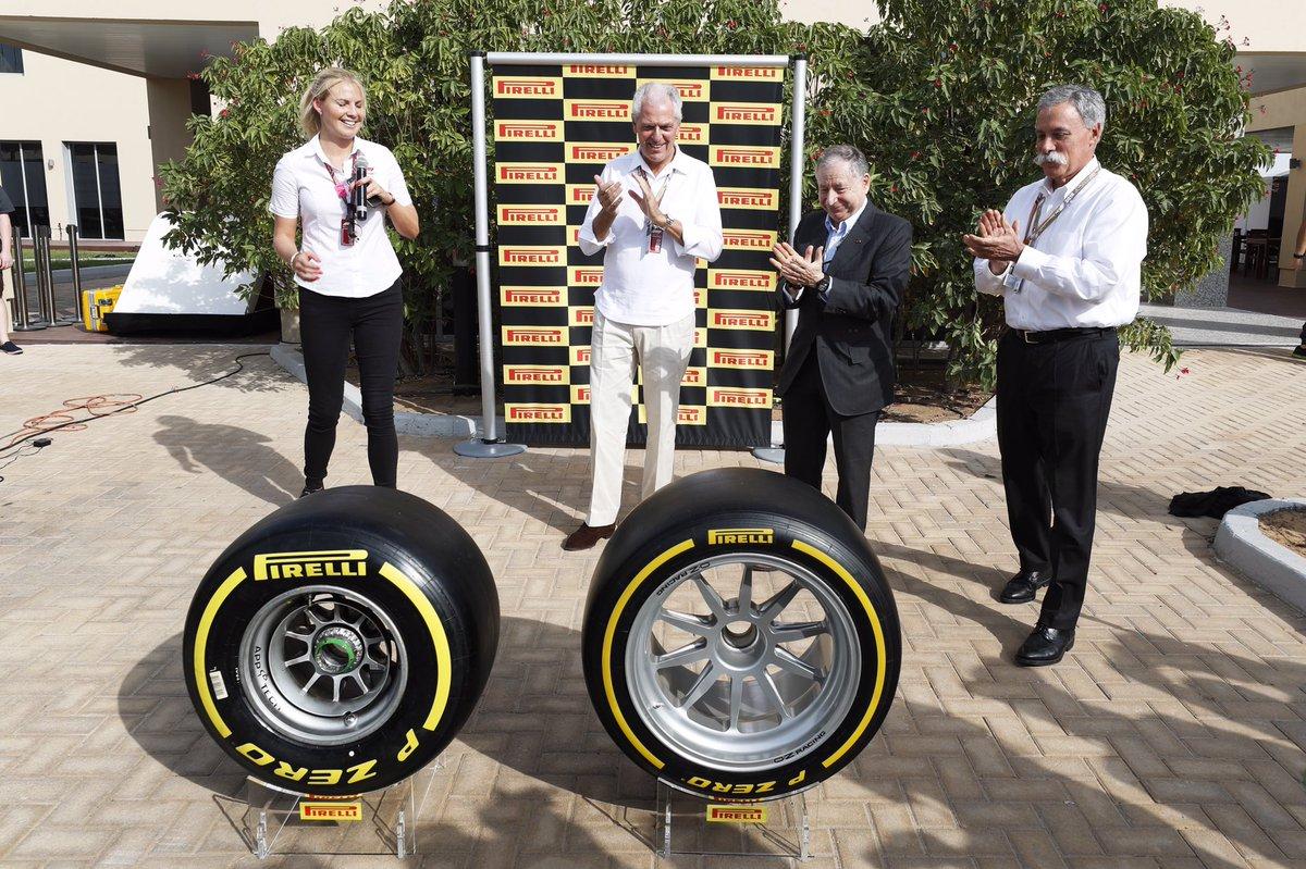 Pirelli rimane in Formula 1